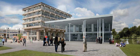 CAD image of the new Student Centre