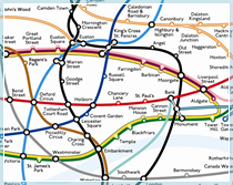 An alternative to the London Underground map