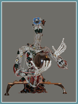 Cronos, a robot developed at Essex by Professor Holland