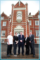 The management team at Wivenhoe House