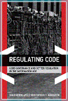 Regulating Code front cover