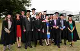 Government graduates with John Bercow MP