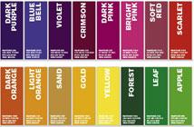University branding colours