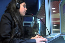 translator in booth