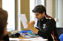 creative writing at university