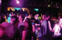 Nightclub scence