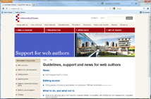 Support for web authors