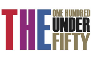 The Times Higher - one hundred under fifty logo