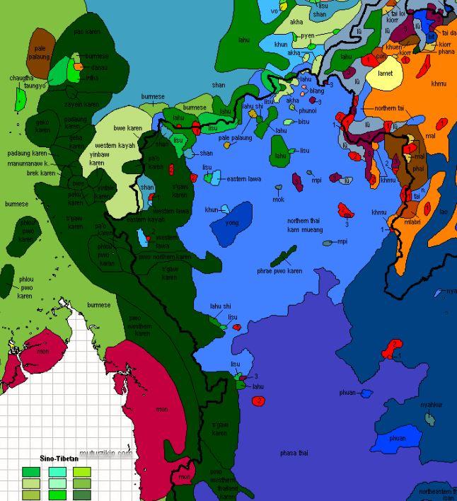 Language Asylum Research Group Resources Img AltSE Asia - Asia language map