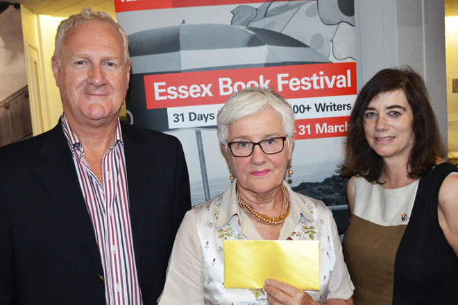 Writing with a dark twist wins Essex Book Festival's Crime Writing