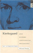 Book cover image of Kierkegaard and Modern Continental Philosophy