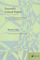 Book cover image of Foucault's Critical Project