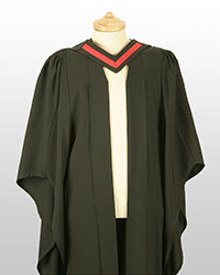 Foundation degree gown front