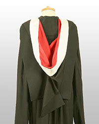 MPhil gown back