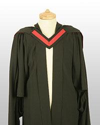 MPhil gown front