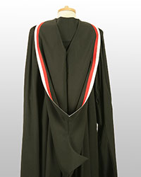 PG Cert gown back