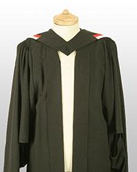 PG Cert gown front