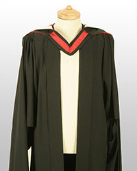 Masters gown front
